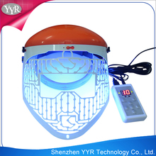 YYR best selling salon use facial treatment 3 colors light phototherapy devices