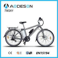 Shock price electric mountain bike/bicycle, sport ebike TM261, bicicleta electric