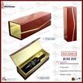 uno de una sola botella de diseño de alta calidad del vino caja de regalo