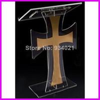 sellingclear оргстекла подиум, акриловые древесины аналой, церкви подиум