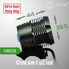 Nuevo diseño!! De alta potencia cree xml u2 led bicicleta luz