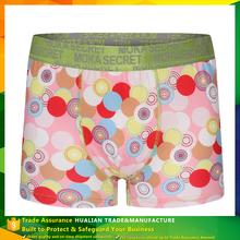 Reactive Print Casual Men's Antimicrobial Underwear