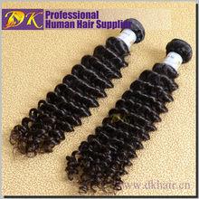 12-30 inch fashion source wholesale 100% human natural black color deep wave hair