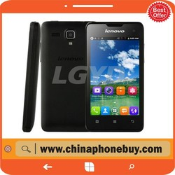 Lenovo A396 4.0 inch 3G Android 2.3 Smart Phone, SC7730 Quad Core 1.2GHz, ROM: 512MB, WCDMA & GSM(Black)
