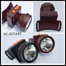 INTRY Mini compact waterproof light rechargeable lithium battery emergency outdoor hunting head lamp YC-227A47