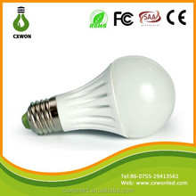 Long lifespan Energy Saving Epistar smd 5630 Ceramic Led Bulb High Quality CE FCC ROHS 85-265V E27 led bulb lighting
