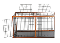 Sale.High quality material wholesale large metal dog house cage,metal dog cage