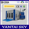 2015 top selling in Australia alibaba spray painting line spray bake paint booth car spray booth china