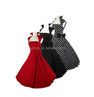 VINTAGE 1950's ROCKABILLY mature ladies SWING EVENING FORMAL DRESS