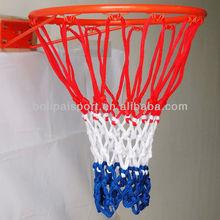Custom three color basketball net