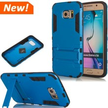 Hybrid Shockproof Heavy Duty Kickstand Hard Phone Case Cover For SAMSUNG GALAXY S6