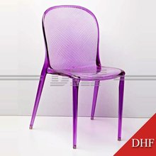 PC Colored Dining Plastic Chair