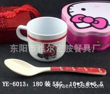 6013ไม่มีการออกแบบใหม่ราคาถูกขายร้อนถ้วยกาแฟเมลามีนพิมพ์ขายส่ง