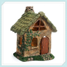 Decoration miniature gnome home fairy house village garden