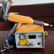 Superior quality experiment with electrostatic powder spraying gun