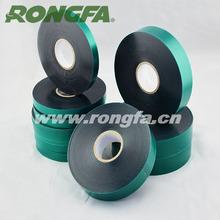 Dark green PVC tape for gardening