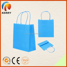 Colorful Easy Taking Recycled Food Packing Kraft Paper Bag