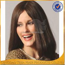 Wholesale highest quality virgin european human hair skin top kosher wig jewish wig