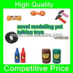 2013 Lovely new design fashionable rubber pet toys/pet talking toys