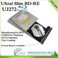 2015 Brand NEW 9.5mm SATA Blu ray Laptop DVD Burner Drive uj272