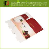 Popular Use Decorative Factory Price Wine Paper Box