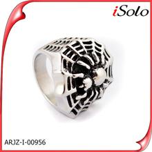 Anillos de plata wholesale titanium rings stainless steel mens ring