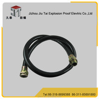 PVC material quality cheap explosion proof joints suitable for GB3836 /explosion proof flexible pipe