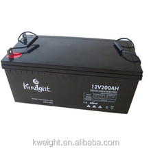 Sealed Maintenance free 12v 200Ah battery solar battery deep cycle battery
