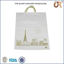 Promotion Sealing bag for dumplings/ Back sealed plastic bag for food/food grade packaging bag