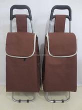 Folding shopping cart hanging toiletry travel bag organizer