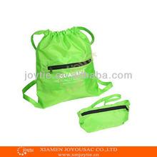 fashion foldable drawstring backpack gym bags