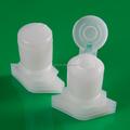 Kunststoff rohstoffhersteller- kunststofftülle mit flip-cap für beutel