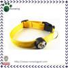 Yellow Bright Led Dog Collar Eco-friendly Collar