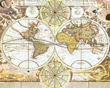 Modern World Map Canvas Art For Dropship