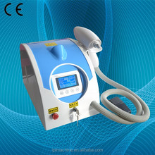Portable Q Switched Nd Yag laser remove eyebrow tattoo