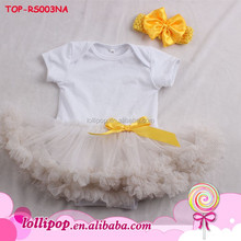 A little baby birthday dress princess baby girls tutu dress baby bodysuits with headband