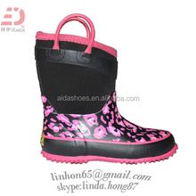 2014 New Good Looking Girls Rubber Neoprene Boots