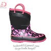 2015 New Good Looking Warm Winter Girls Rubber Neoprene Boots