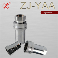ISO7241 A steel hydraulic quick coupler