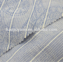 100 cotton jacquard woven fabric textile for shirt