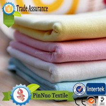 2015 Retail and custom fabric cotton modal slub fabric for t shirt and garment