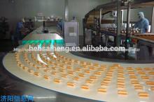 Automático suizo rollo de la máquina y del rodillo suizo línea de producción o pastel de producción