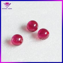 2015 New Good Quality 5# Ruby Corundum Ball for Jewelry