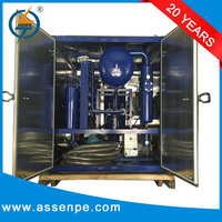 PLC fully automatic type transformer oil purification, oil purifier machine,transformer oil purification machine
