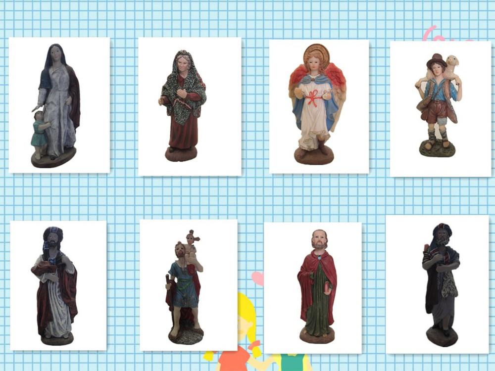 Santo religiosa jesus figurinhas figurinhas com resina bebê jesus jesus imagem 3d estátuas