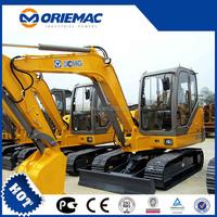 XCMG 6 Ton Mini New Excavator Price For Sale XE60C