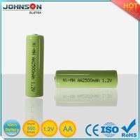 1.2v 1200ma Aa Rechargeable Ni-mh Battery