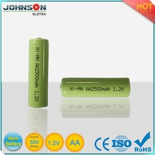1.2v 1200ma Aa Rechargeable Ni-mh Battery