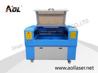 AOL 6090 hot sale portable mdf/metal laser cutting machine price
