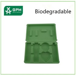 Biodegradable paper pulp skin care packaging containers suppliers